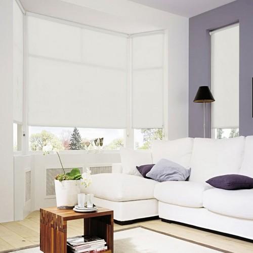 Store Enroulable Lavable Blanc