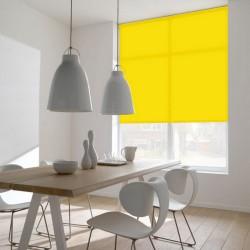 Cortina de Rolo Lavável  Amarelo Sol