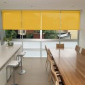Washable Roller Blinds Dark Yellow