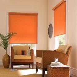 Tenda a Rullo Lavabile Arancio