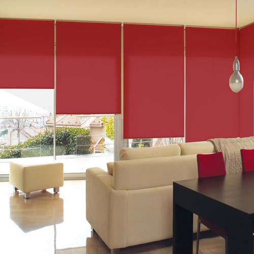 Washable Roller Blinds Red