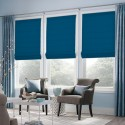 Roman Blind Light Blue